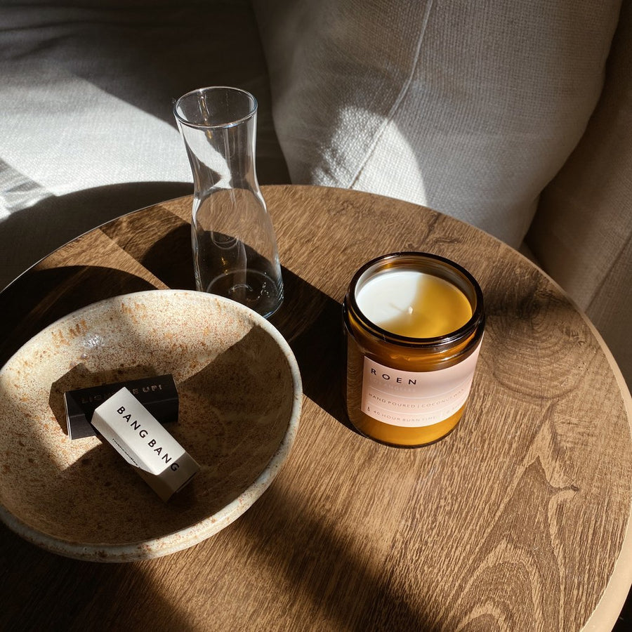 Marmont - ROEN Candle | Wild Rose, Lily, White Musk, Moss, Leather