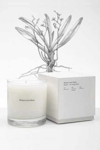 Maison Louis Marie - No.02 Le Long Fond Candle