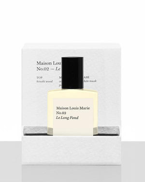 Maison Louis Marie - No.02 Le Long Fond Perfume Oil