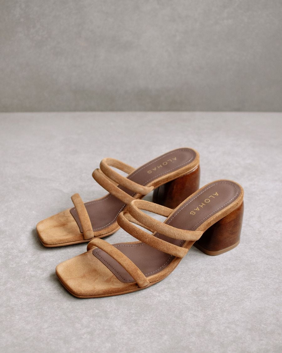Alohas Indiana Brown Heels