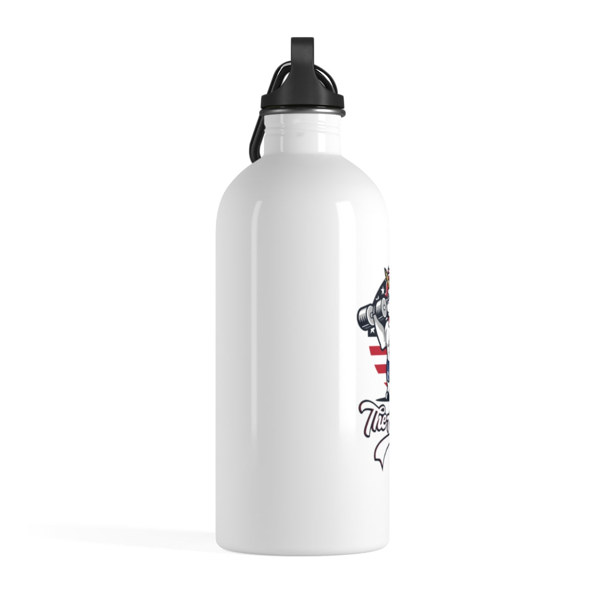 "Stainless Steel Water Bottle - Fit Family Apparel by Erick ""The Ab Pro"""