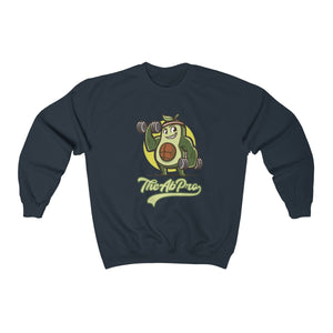 "Avocado Unisex Heavy Blend™ Crewneck Sweatshirt - Fit Family Apparel by Erick ""The Ab Pro"""