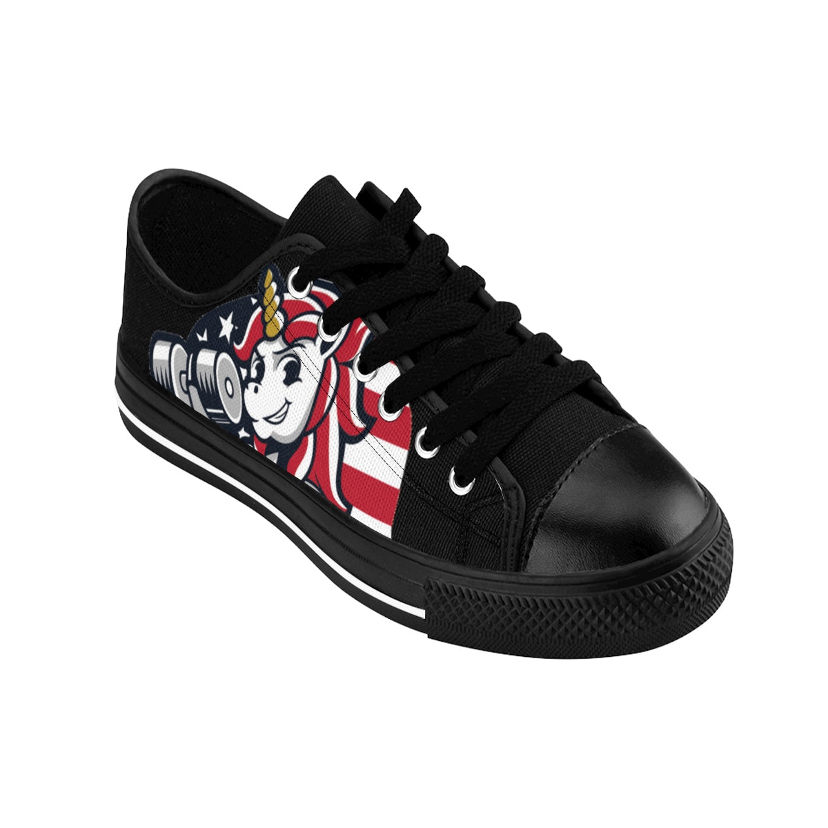 "American Unicorn Women's Sneakers The Ab Pro - Fit Family Apparel by Erick ""The Ab Pro"""