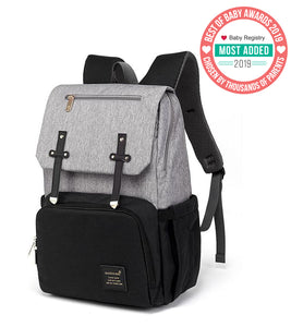 Rome USB Diaper Backpack Bag | BubbyBags