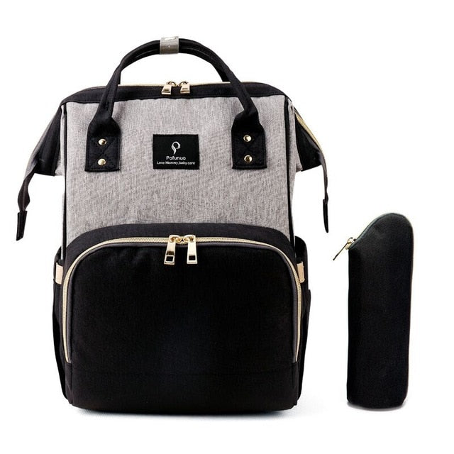 Limited Edition BubbyBag Amsterdam Grey/Black