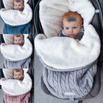 Thick Baby Swaddle Wrap Stroller