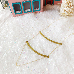 Gilded Bridge Necklace