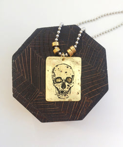 The Inscribed Collection - Skull