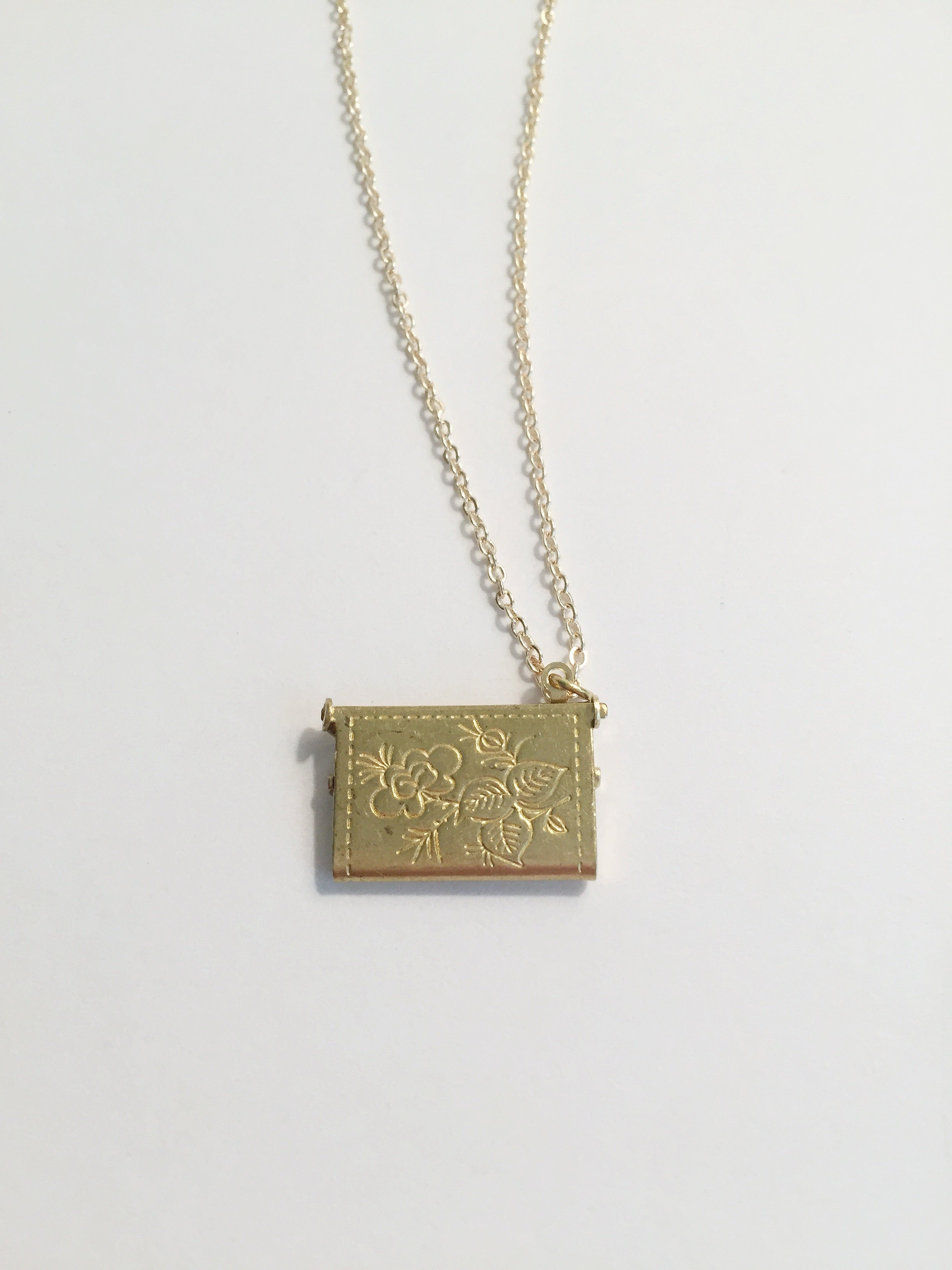 Stocking Stuffer - Love Letter Necklace