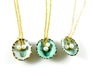 Stocking Stuffers - Limpet Shell Necklaces