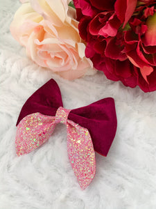 Maroon Passion Sailor Bow