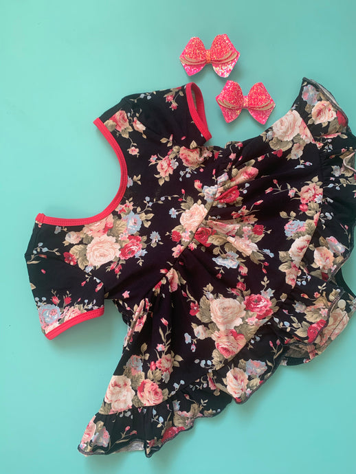 Adeline Skirted Romper