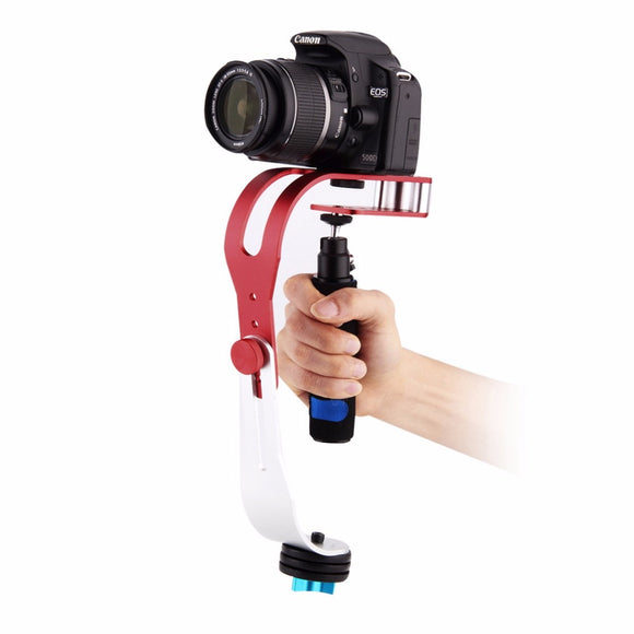 Handheld Video Stabilizer Camera Steadicam Stabilizer for Canon Nikon Sony Gopro Hero Phone DSLR DV With Phone holder