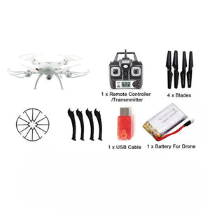 720P HD Wifi FPV Quadcopter Auto-Takeoff Remote Model Airplane Drone Camera 300,000 Pixels Without Memory Card X53