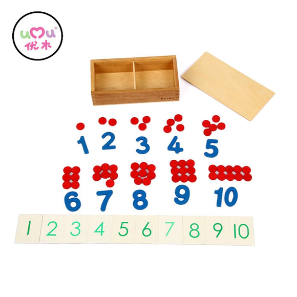 NUMBERS 1 TO 10 AND COUNTERS * COMBINING NUMBERS AND QUANTITY *