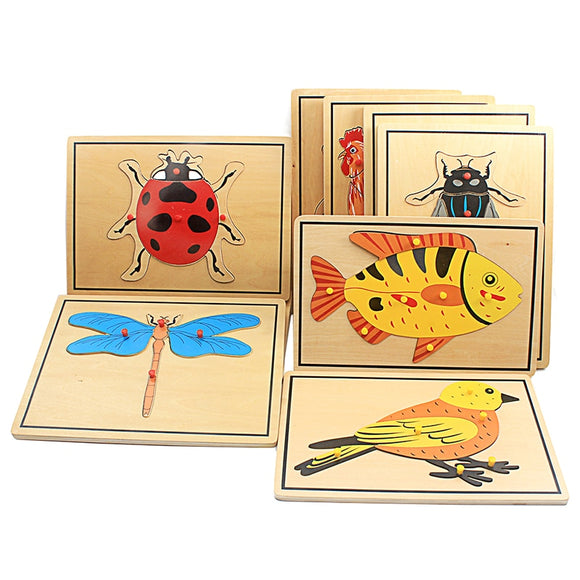 BEAUTIFUL GOOD QUALITY PUZZLES  * INSECTS * FISH * BIRD * PENGUIN * AMPHIBIAN * MAMMALS