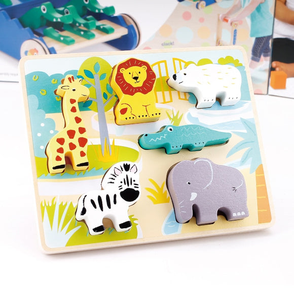 3D ANIMAL PUZZLE FOR KIDS