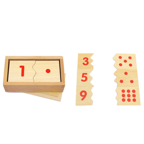 NUMBER PUZZLE * NUMBERS 1 TO 10 * MATCHING DIGITS TO DOTS