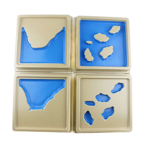 MONTESSORI GEOGRAPHY LAND AND WATER FORMS