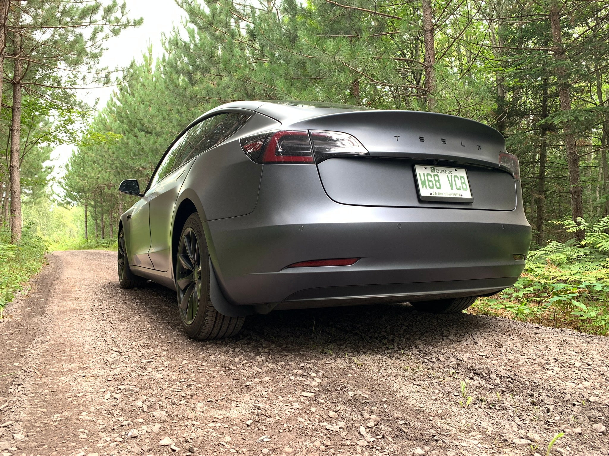 4 Garde-Boues Tesla Model 3 (MidWest Edition)