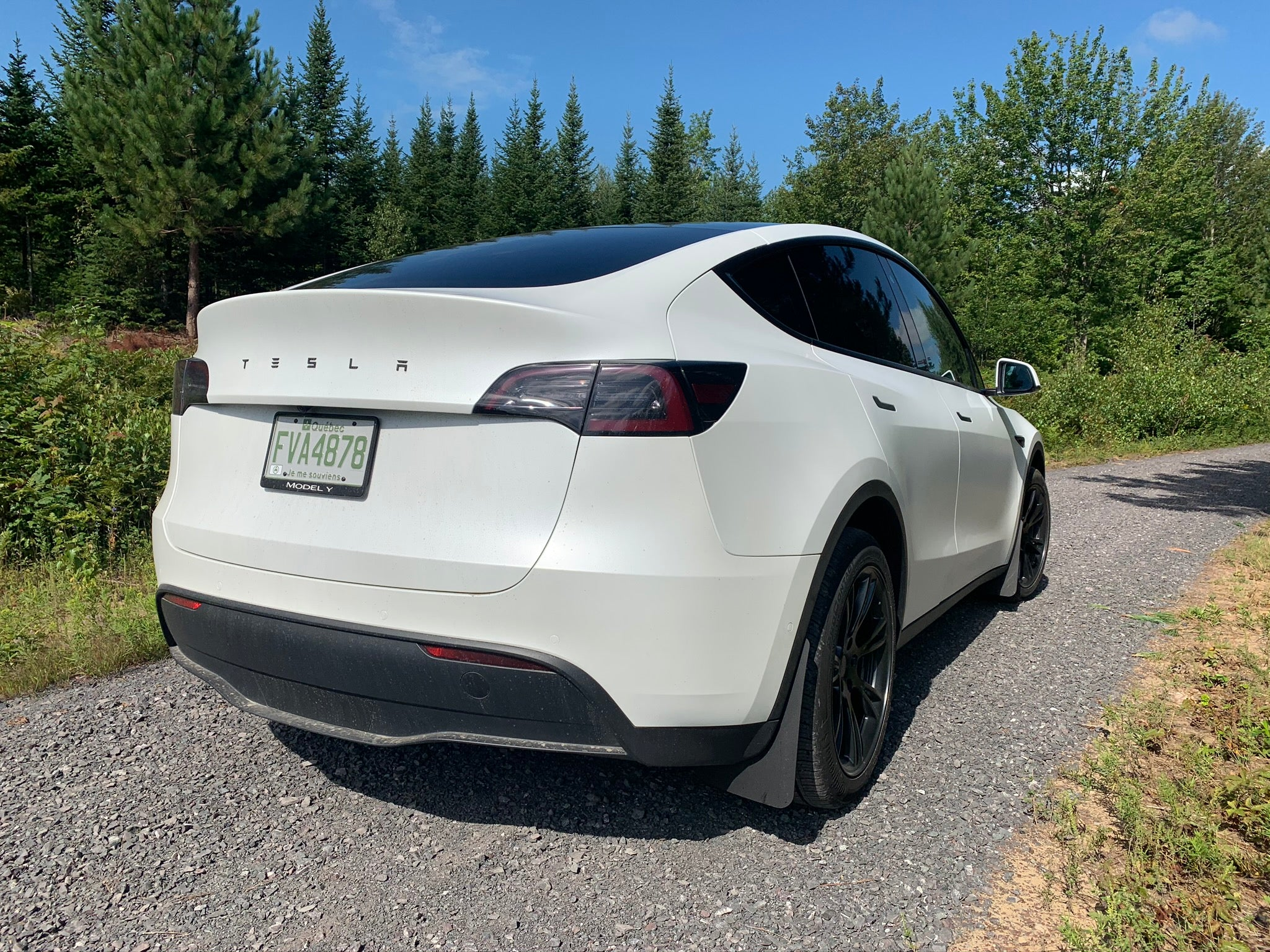 4 Garde-boues Tesla Model Y