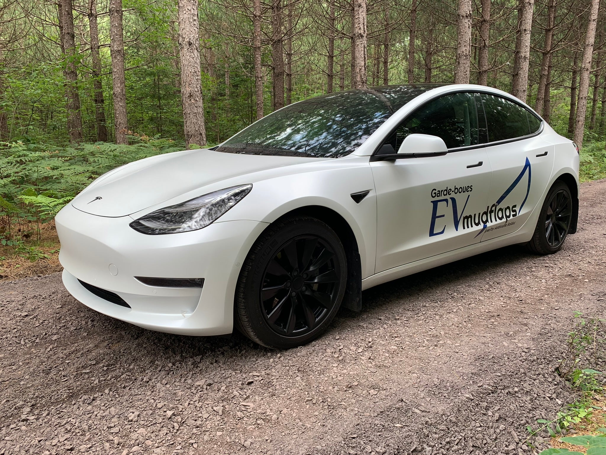 4 Garde-Boues Tesla Model 3 (North Edition)
