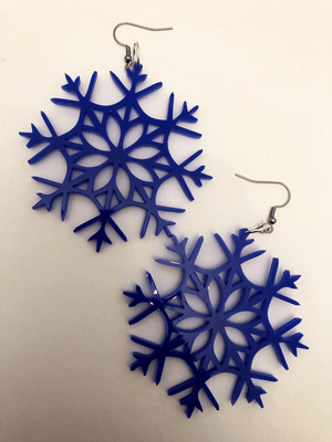 Snowflake Earrings XV