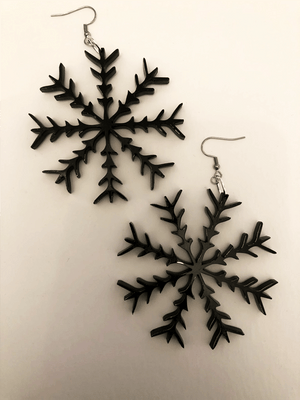 Snowflake Earrings III