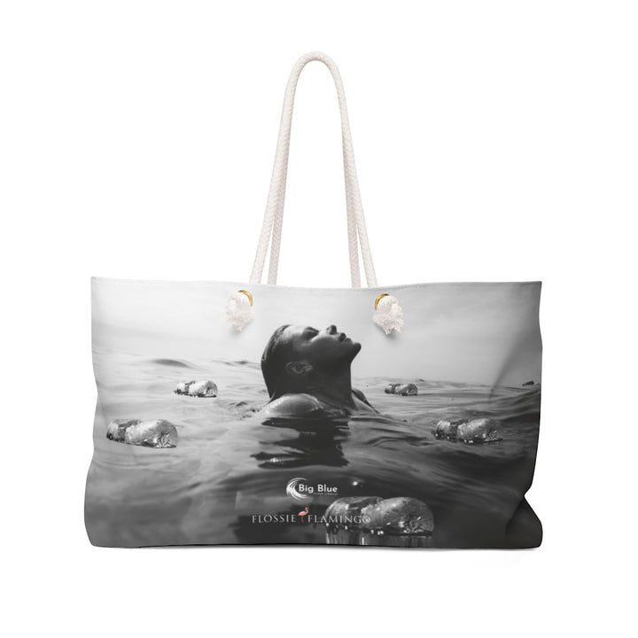 'RISE ABOVE PLASTIC' Weekender Bag