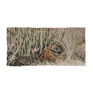 'Bengal The Brave' Beach Towel