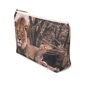 'Long Live The King' Mens Grooming Pouch