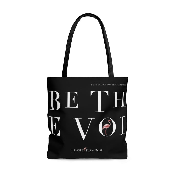 'Be The Voice For The Voiceless' Tote Bag
