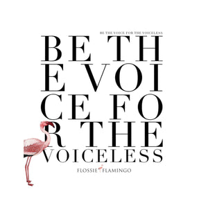 'Be The Voice For The Voiceless' Duvet Cover