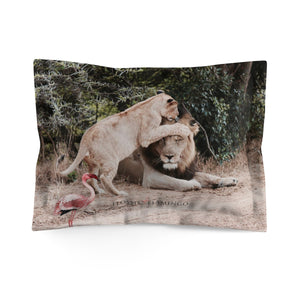 'Let's Get Wild' Pillow Sham