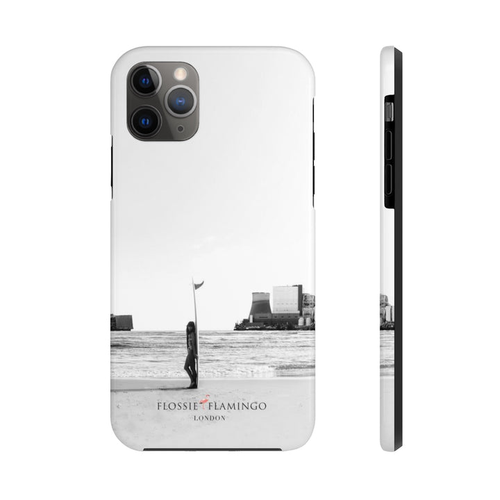 'Turn The Tide On Fossil Fuel' Case Mate Tough Phone Case