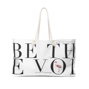 'Be The Voice For The Voiceless' Weekender Bag