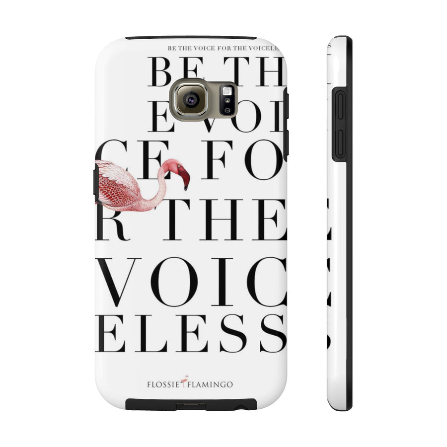 'Be The Voice For The Voiceless' Case Mate Tough Phone Case