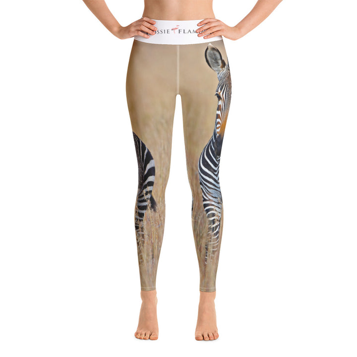 'We've Earned Our Stripes' Sports Leggings