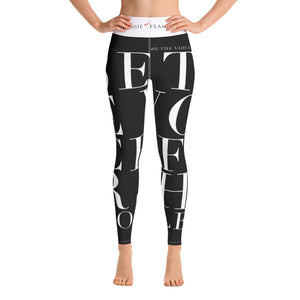 'Be The Voice For The Voiceless' Sports Leggings