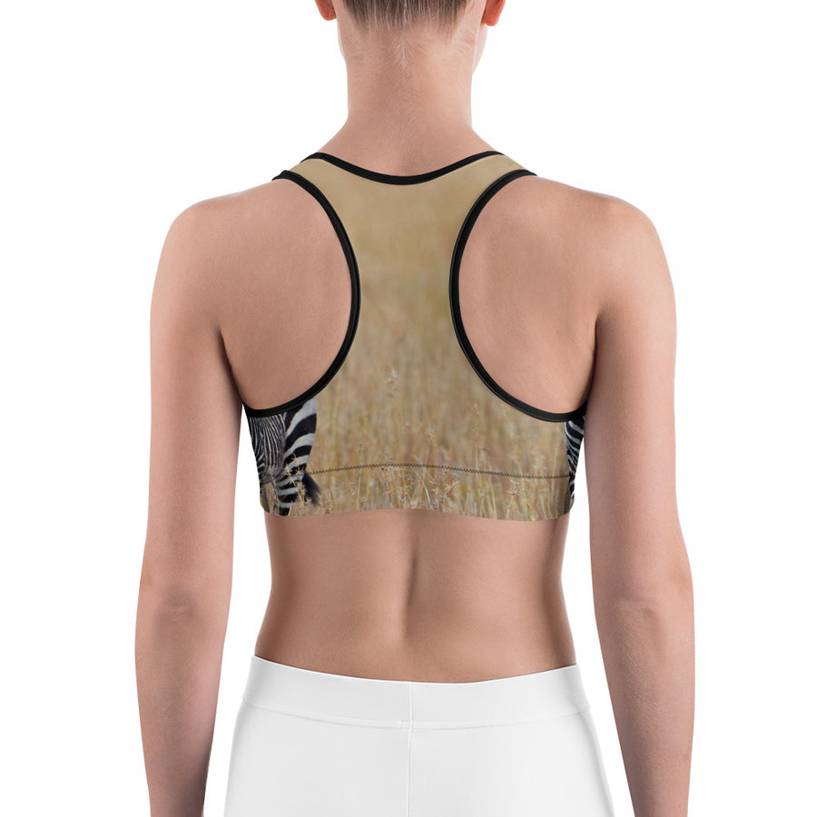 'We've Earned Our Stripes' Sports bra