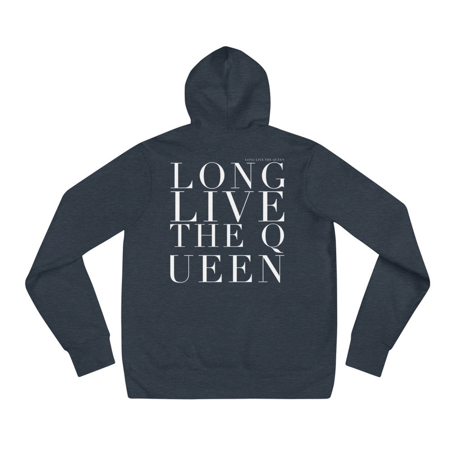 'LONG LIVE THE QUEEN' UNISEX HOODIE