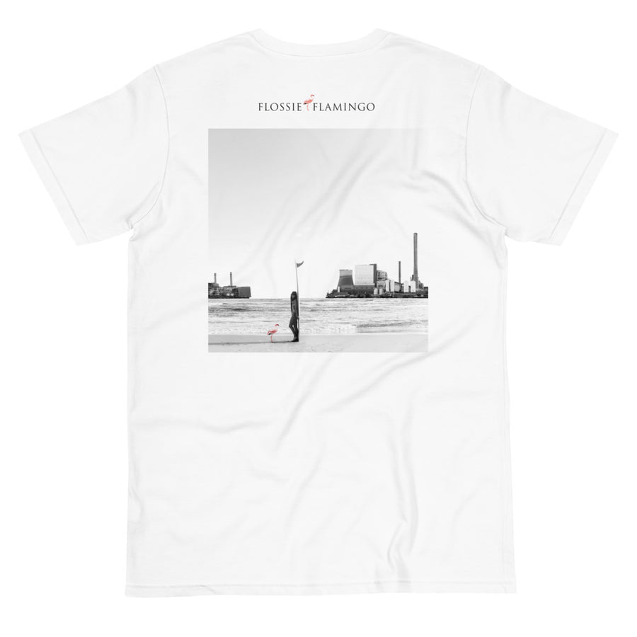 'Turn The Tide On Fossil Fuel' 100% Organic UNISEX TEE