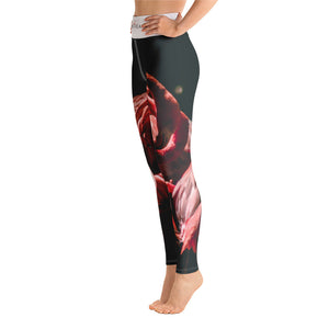 'Pink Ambition' Sports Leggings