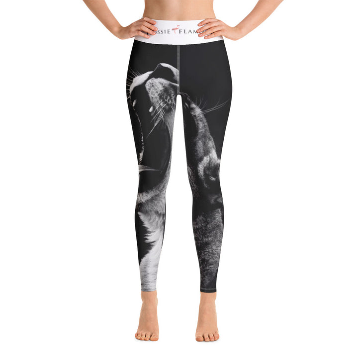 'Hear Me Roar' Sports Leggings