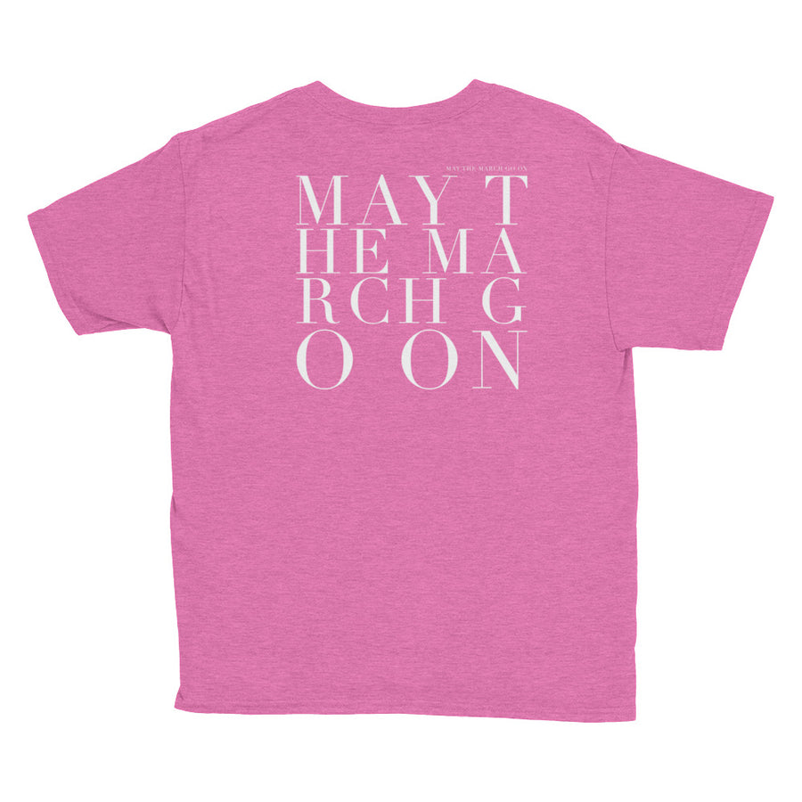 'MAY THE MARCH GO ON' KIDS TEE