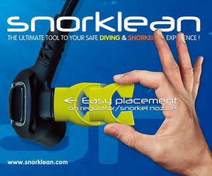Fun & Safe SNORKLEAN - Snorkeling & Diving mouthpiece's protective sleeve