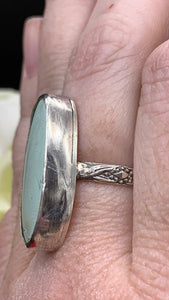 Morning Star and sterling silver ring size 8 3/4