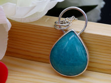 Load image into Gallery viewer, Amazonite and Silver necklace