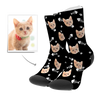 Custom Cat Socks - Fotosocken
