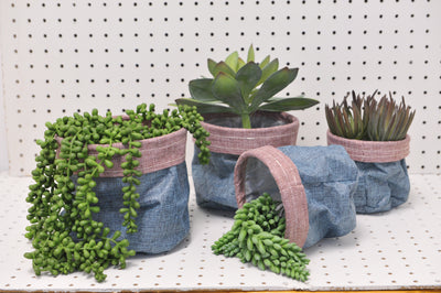 Fabric Pots - Set of 4